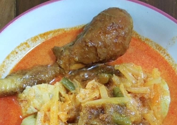 Resep membuat Semur ayam betawi sedap