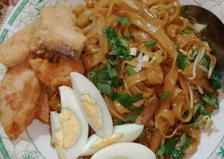 Resep mengolah Mie tiaw goreng yang menggugah selera