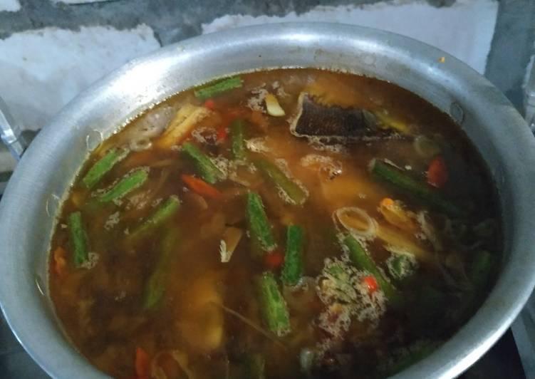 Cara Mudah memasak Pindang Serani ikan bandeng yang menggugah selera