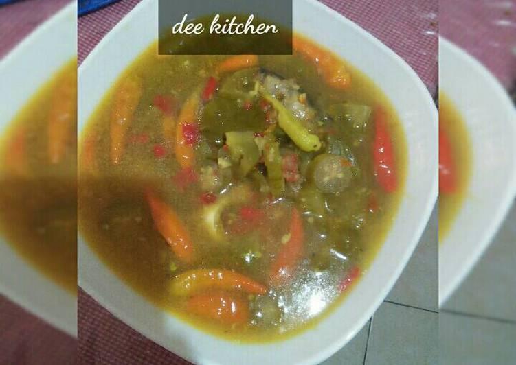Resep memasak Pindang serani(jepara) lezat