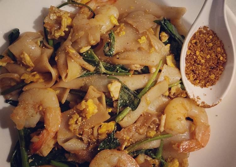 Resep: Homemade mie tiaw sedap