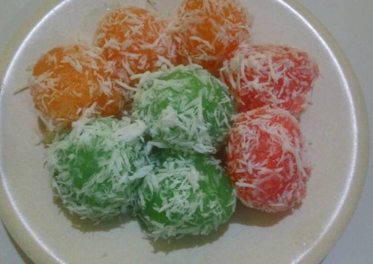 Resep memasak Ongol2 singkong 3 warna yang menggugah selera