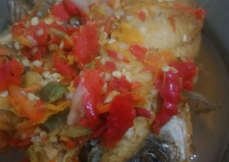 Cara Mudah mengolah Pecak gurame enak dan simple lezat