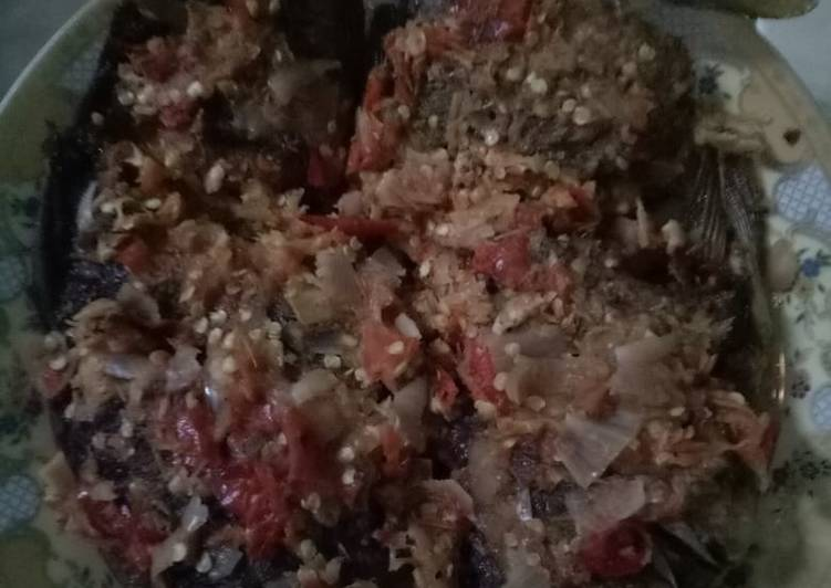 Cara memasak Pecak ikan ala resto