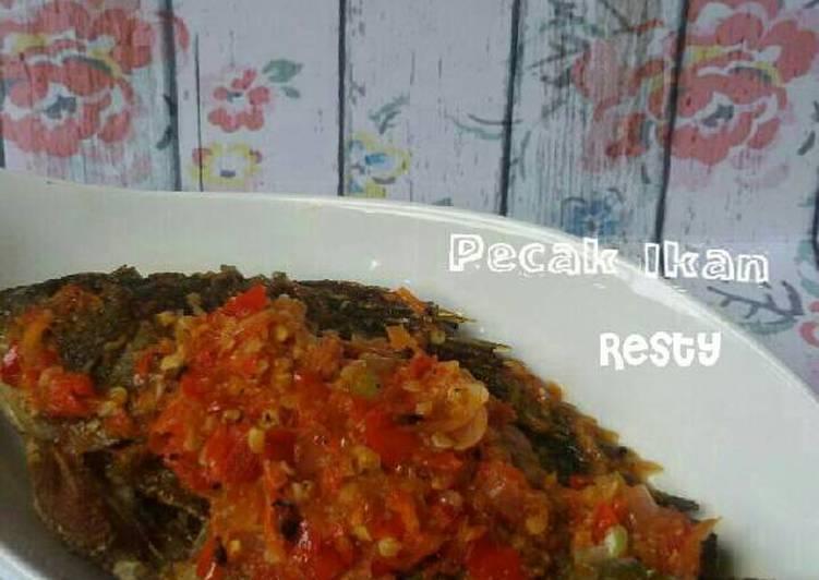 Resep: Pecak ikan enak