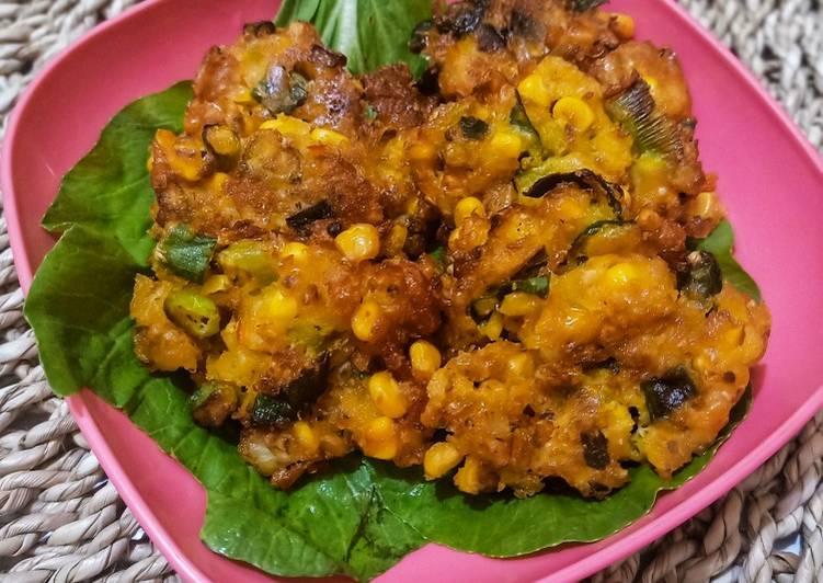 Resep mengolah Dadar jagung (pelas) lezat