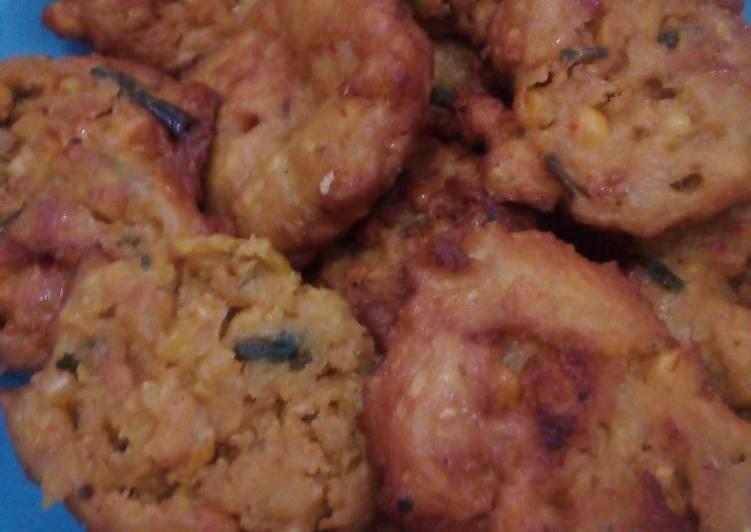 Resep memasak Dadar jagung (pelas) istimewa
