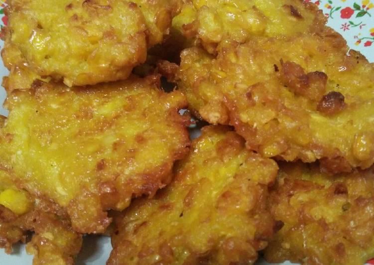 Resep memasak Pelas (dadar jagung) ala resto