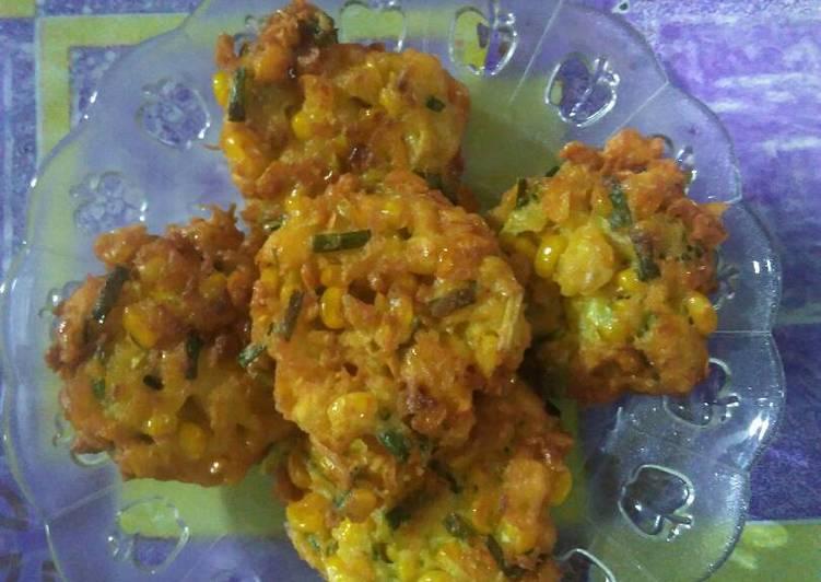 Resep: Pelas/dadar jagung ala chabhymom yang menggugah selera