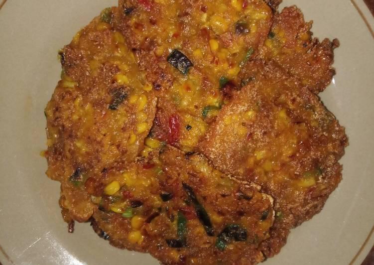 Resep: Pelas / bakwan jagung ndeso istimewa