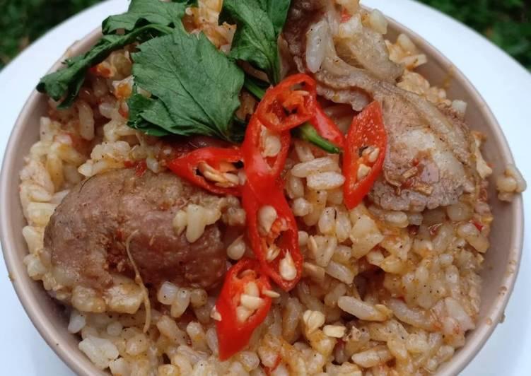 Resep: Nasi kebuli sapi-magic com praktis sedap