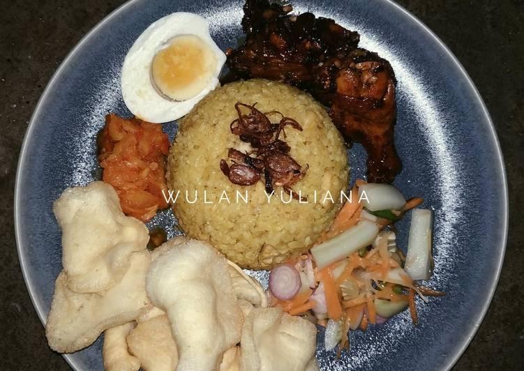 Nasi Kebuli Ayam Masak Mejikom Enakkkkk