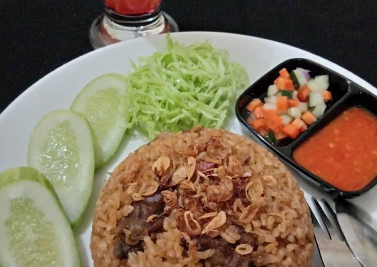 #87 Nasi Kebuli Daging Sapi