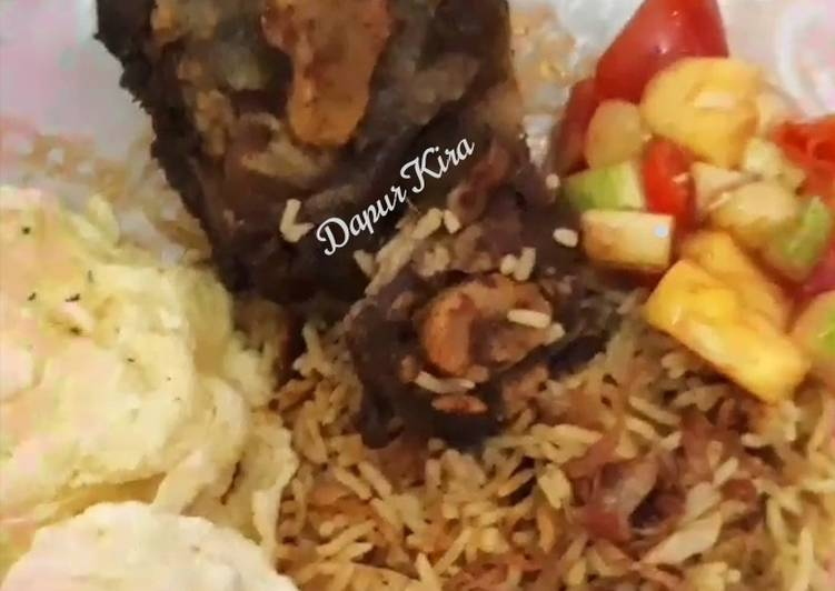 Resep: Nasi kebuli ricecooker istimewa