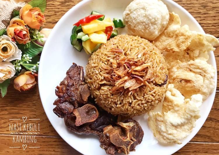 Nasi Kebuli Kambing + Acar