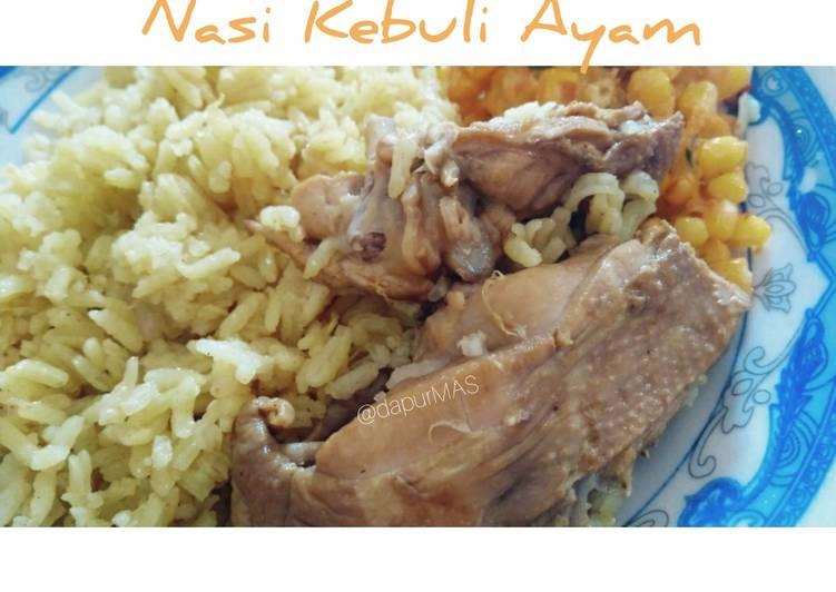 Resep: Nasi Kebuli Ayam yang menggugah selera