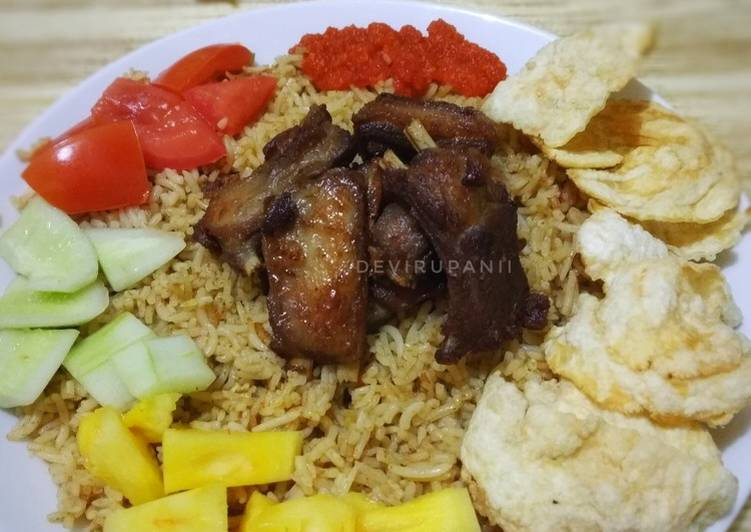 Nasi Kebuli Kambing (Magic com)