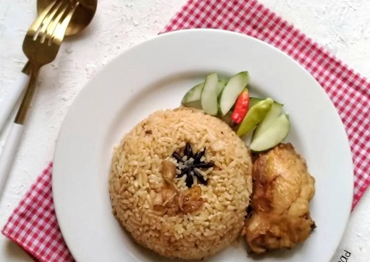 Nasi Kebuli Ayam (Rice Cooker)