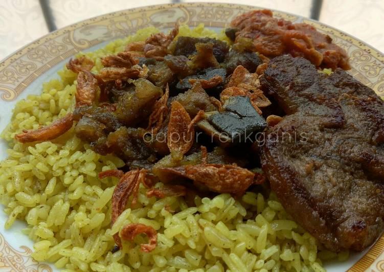 Resep: Nasi kebuli daging sapi enak