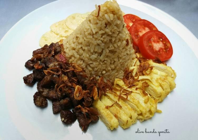 Resep: Nasi kebuli daging sapi yang menggugah selera