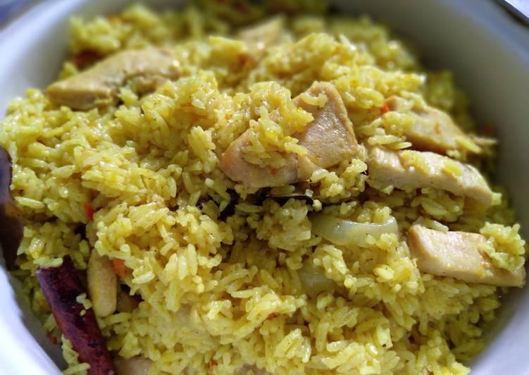 Resep mengolah Nasi kebuli ayam