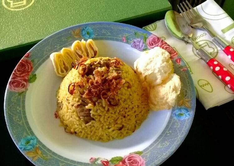 Resep memasak Nasi kebuli yang menggugah selera