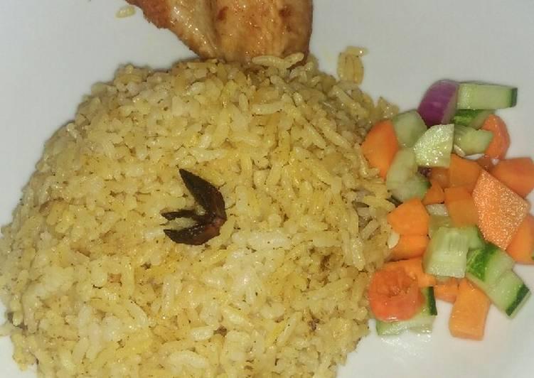 Resep: Nasi kebuli ayam istimewa