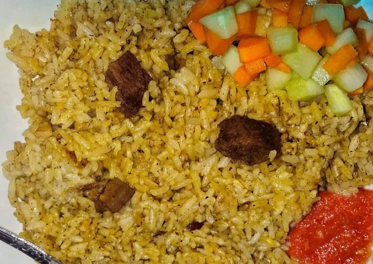 Resep: Nasi Kebuli SIMPEL ala resto