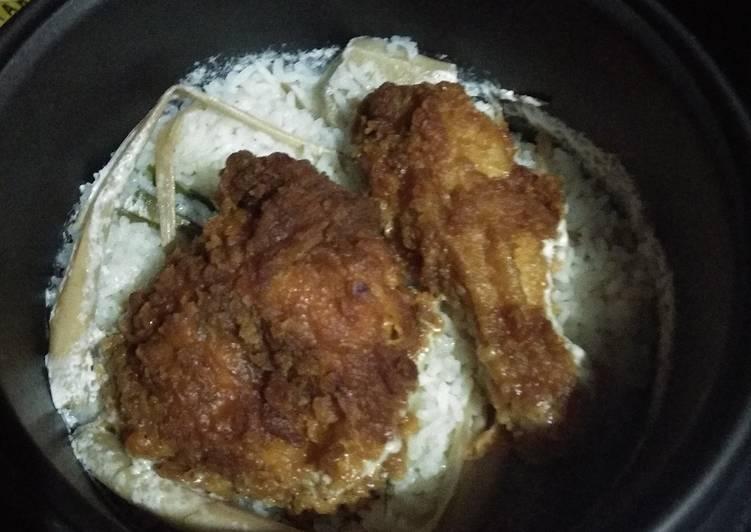 Nasi Uduk Ayam Spicy McD