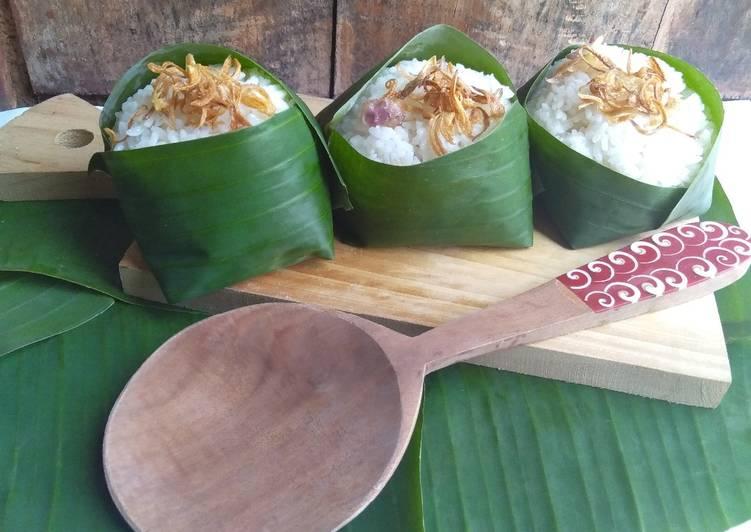 Cara Mudah mengolah Nasi Uduk wangi tanpa santan yang menggugah selera