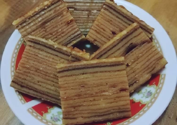 Resep memasak Lapis Legit yang menggugah selera