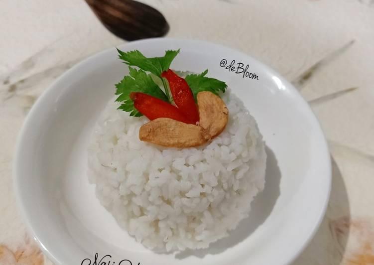 Cara Mudah memasak 697. Nasi Uduk Minimalis yang menggugah selera