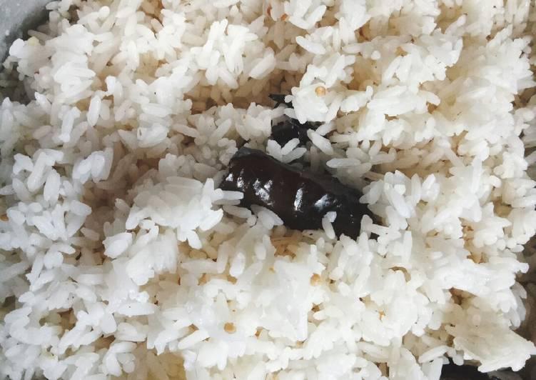 Cara Mudah memasak Nasi uduk