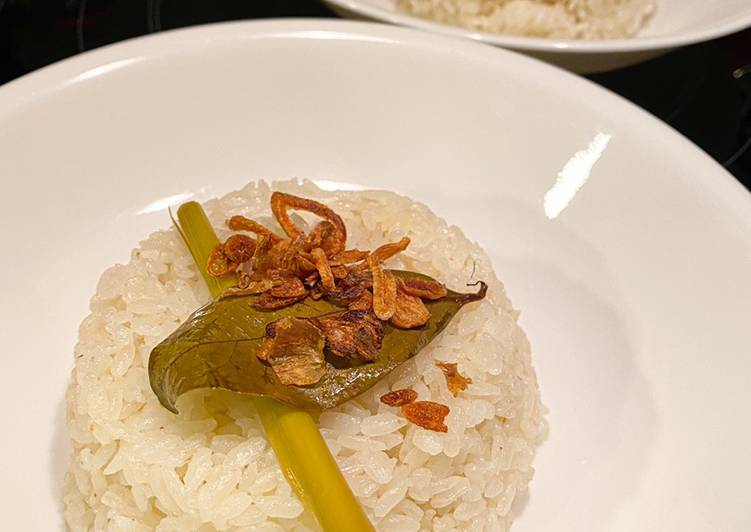Resep: Nasi uduk anti gagal enak