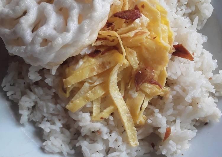 Cara mengolah Nasi Uduk Sederhana yang menggugah selera