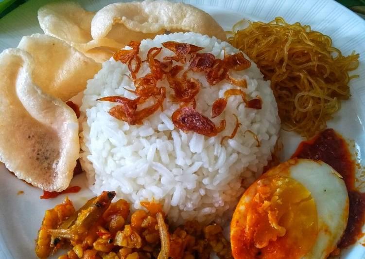 Resep: Nasi uduk yang menggugah selera