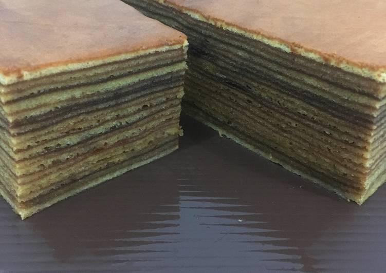 Resep: A Thousand Layers Cake a.k.a  Lapis Legit yang bikin ketagihan