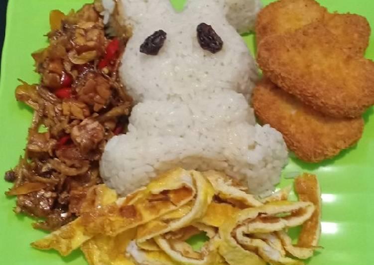 Cara Mudah mengolah Nasi uduk magicom enak