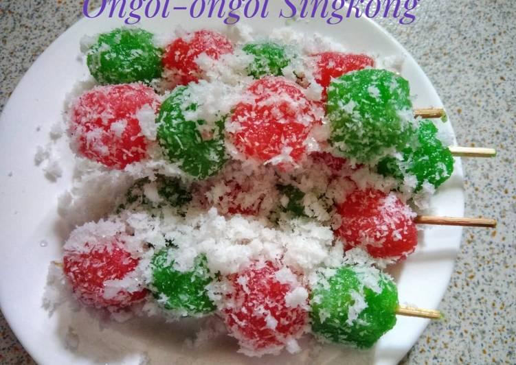 Resep memasak Ongol-ongol Singkong enak