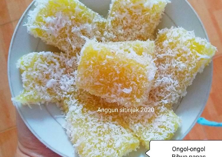 Resep: Ongol-ongol MINAS A. K. A Mihun nenas lezat
