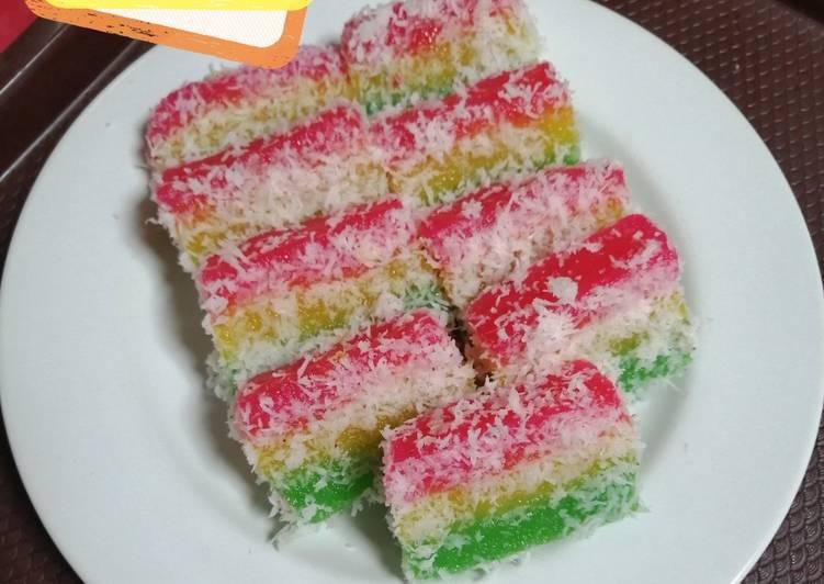 Cara mengolah Ongol ongol Rainbow