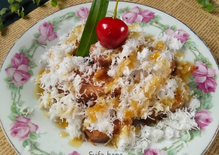 Resep mengolah Ongol-ongol gula merah ala resto