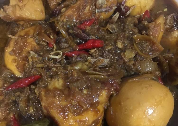 Resep: Semur Ayam dan Telor Betawi yang menggugah selera