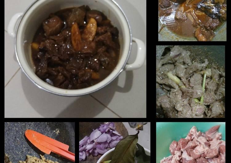 Resep: Semur Daging & hati Sapi ala Betawi lezat