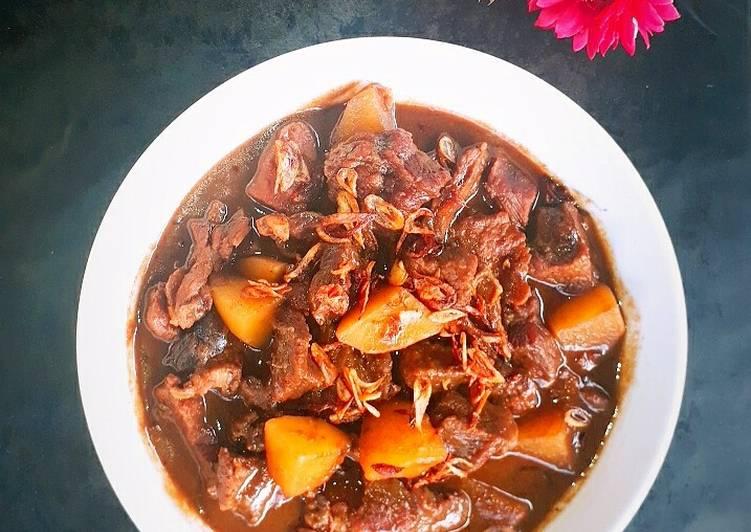 Resep: Semur Daging khas Betawi lezat