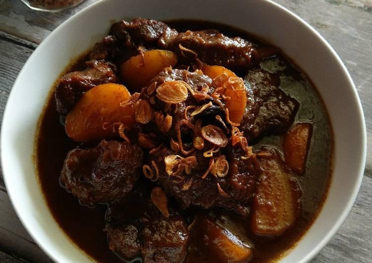 Cara Mudah memasak Semur daging betawi