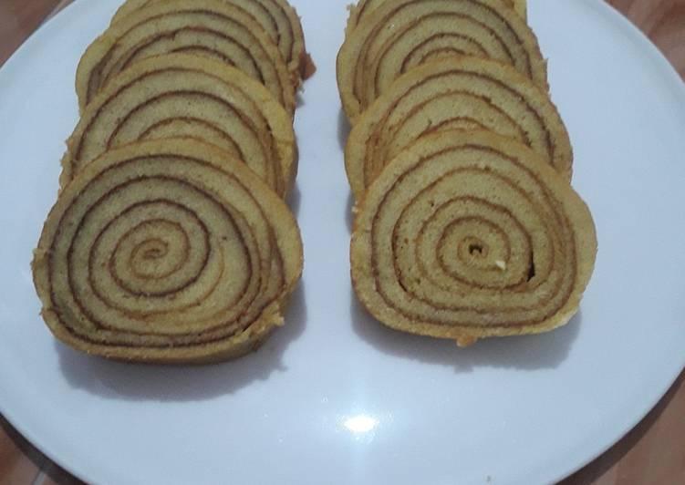 Cara memasak Lapis legit roll yang bikin ketagihan