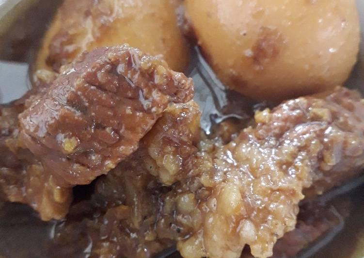 Resep memasak Semur daging betawi ala resto