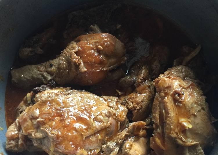 Semur Ayam Betawi - simpel