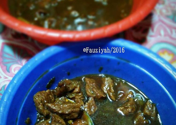 Cara Mudah mengolah Semur Daging Sapi ala Betawi by Rifdah yang bikin ketagihan
